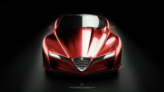 Romeo concept art vehicles supercars 12c gts Wallpaper