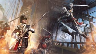 Ships assassins creed 4: black flag edward kenway wallpaper