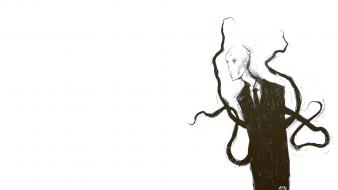 Slender man simple background slenderman wallpaper