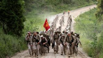 Soldiers military path usmc training wallpaper