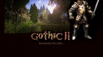 Video games gothic ii wallpaper