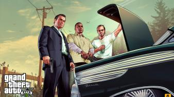 Video games grand theft auto gta v 5 Wallpaper