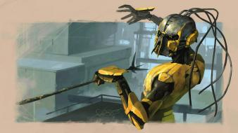 Video games mortal kombat artwork cyrax wallpaper
