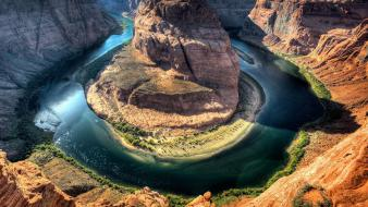 Water landscapes canyon rivers big bend national park wallpaper