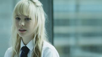 Actresses school uniforms white shirt adelaide clemens wallpaper