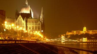 Architecture hungary budapest parliament houses wallpaper