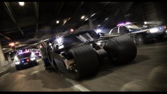 Batman the dark knight cars film tumbler wallpaper