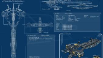 Blueprints spaceships incubus x3: terran conflict wallpaper