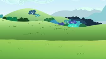 Bushes my little pony: friendship is magic background wallpaper