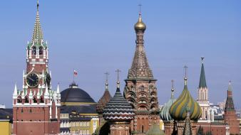 Cityscapes architecture russia day europe moscow wallpaper