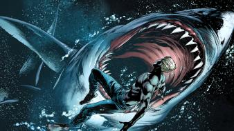 Dc comics sharks aquaman wallpaper