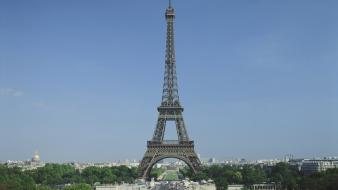 Eiffel tower cityscapes architecture day france europe wallpaper