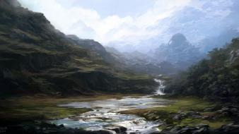 Fantasy art digital artwork portuguese andreas rocha wallpaper