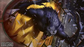 Fantasy art werewolf artwork werewolves wallpaper