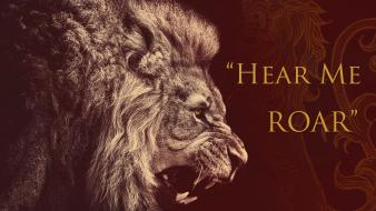 Game of thrones lions house lannister wallpaper