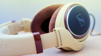 Headphones headset sennheiser wallpaper