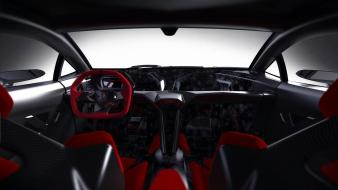 Interior concept art vehicles sesto elemento 2010 wallpaper