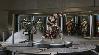 Iron man suit 3 workshop wallpaper