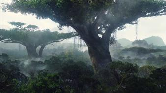Landscapes trees movies jungle avatar forest plants film wallpaper