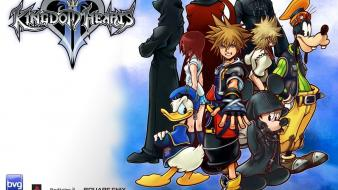 Mickey mouse donald duck roxas organization xiii wallpaper