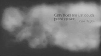 Quotes monochrome grain duke ellington grainy simple wallpaper