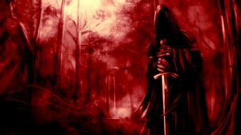 The lord of rings nazgul monochrome swords ringwraith wallpaper