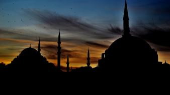 Turkey photographers city lights long exposure istanbul mosque Wallpaper