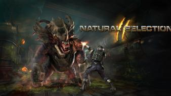 Video games alien marines natural selection 2 Wallpaper