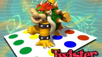 Video games super mario funny bowser twister Wallpaper