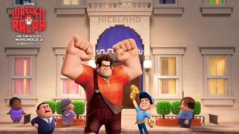 Video games wreck it ralph Wallpaper