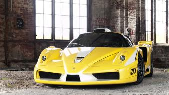 Yellow cars ferrari vehicles ffx wallpaper