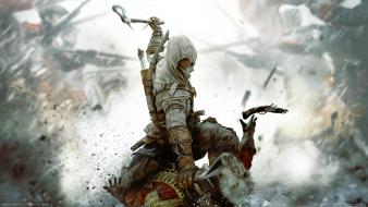 Assassins creed 3 connor kenway native american wallpaper