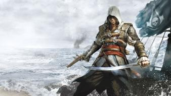 Assassins creed pirates black flag four Wallpaper
