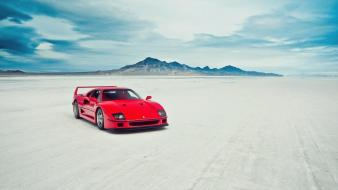 Cars ferrari outdoors vehicles f40 wallpaper