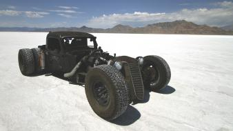 Cars hot rod rat salt flats bonneville wallpaper