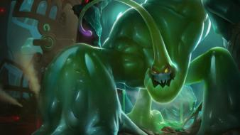 Champions online riot moba slime goo game wallpaper
