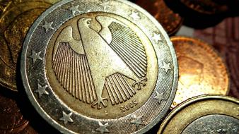 Coins germany euro wallpaper