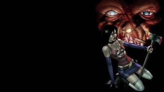 Comics hack/slash Wallpaper