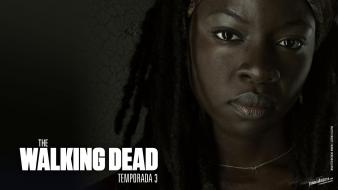 Dead spanish the shows michonne danai gurira wallpaper