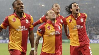 Didier drogba football teams wesley sneijder player wallpaper