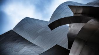 Disney company architecture buildings california los angeles skies wallpaper