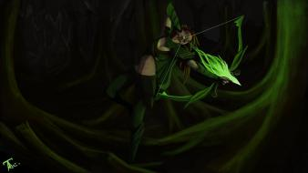 Dota 2 windrunner wallpaper
