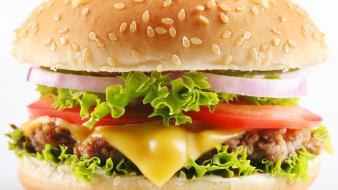 Food drinks hamburgers wallpaper
