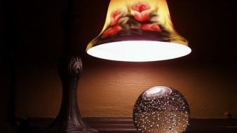 Light glass bowl Wallpaper