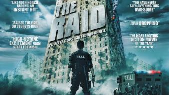 Movie posters the raid wallpaper