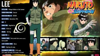 Naruto: shippuden rock lee wallpaper