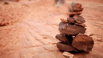 Nature desert rocks Wallpaper