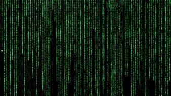 Neo matrix the science fiction background wallpaper