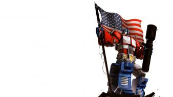Optimus prime transformers comics flags redneck wallpaper
