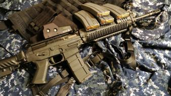 Rifles guns weapons eotech sig 556 Wallpaper